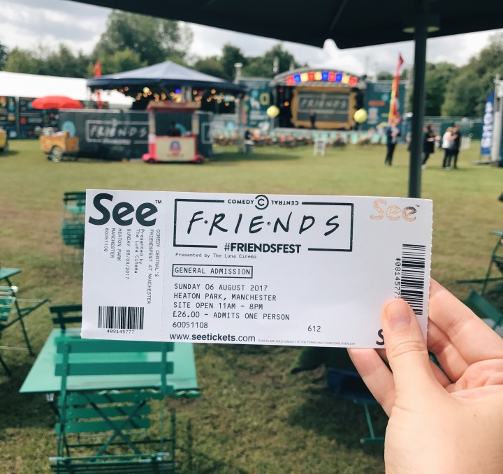 The one where Helen & Maggie went to Friendsfest